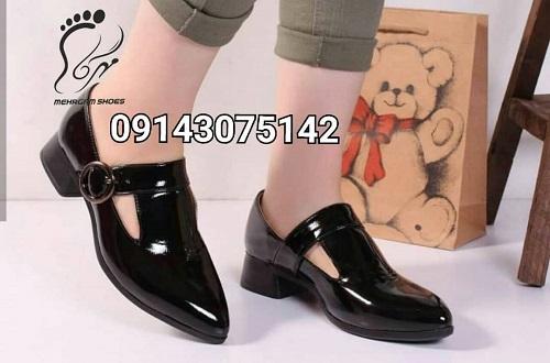 تولیدی کفش زنانه چرم مجلسی